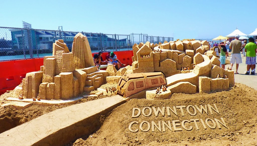 U.S. Sand Sculpting Challenge and 3D Art Expo