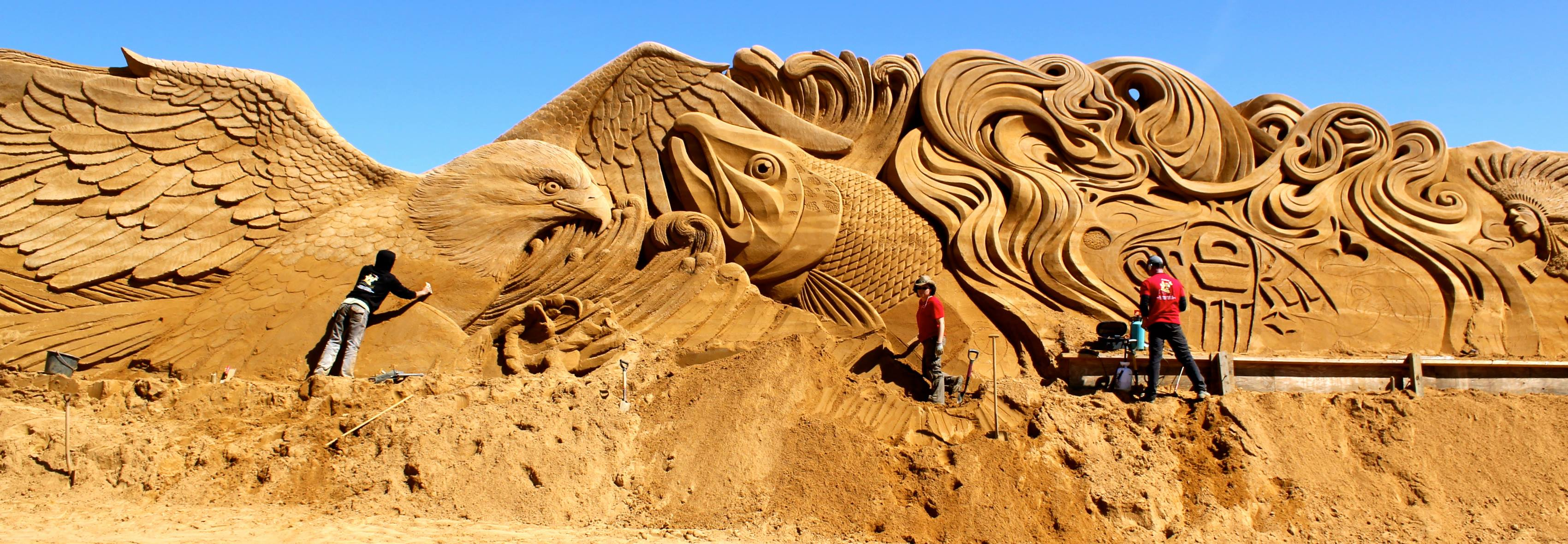 The Sands of Summer – Top Sand Sculpting Competitors and Competitions