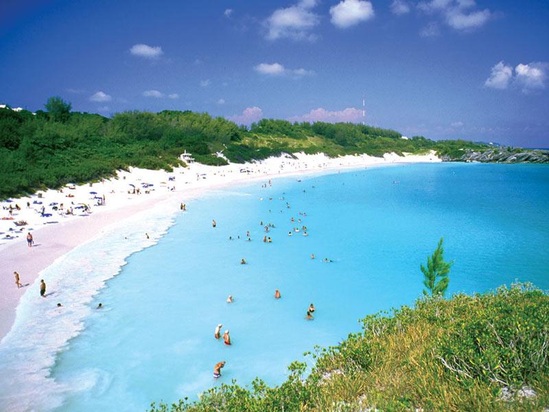 """Bermuda-ful"" Horseshoe Bay Beach"