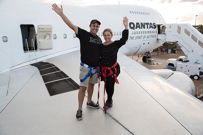 Qantas Wing Walk