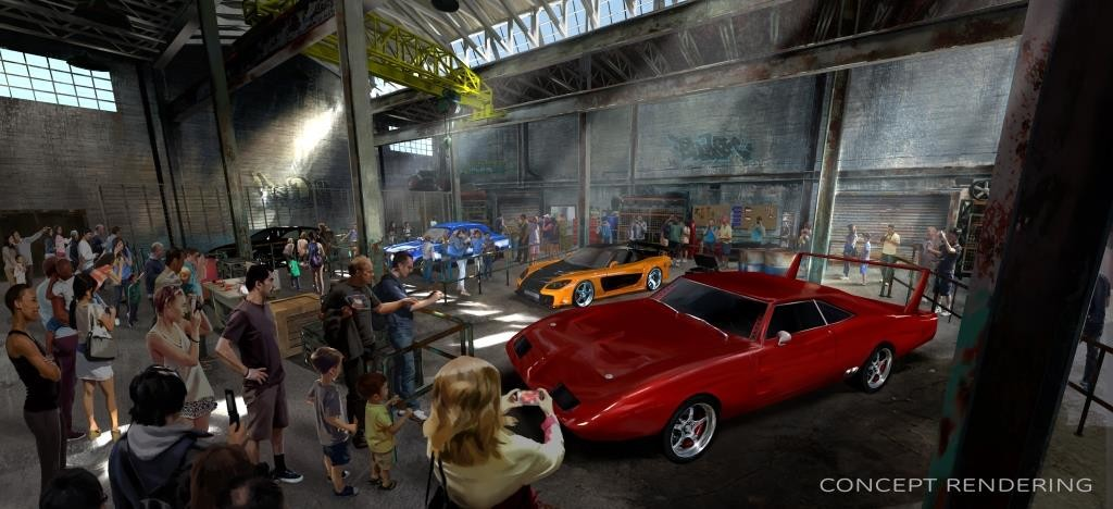 One of the most successful film franchises of all time will soon become one of Universal Studios Florida?s most action-packed ride experiences.  Universal Orlando Resort announced today that Fast & Furious: Supercharged will join its incredible lineup of attractions in 2017 ? continuing the unprecedented growth of the destination. Guests will experience a high-octane journey that fuses an original storyline and incredible ride technology with everything that fans love about the films?popular characters, exhilarating environments, nonstop action and, of course, high-speed cars.