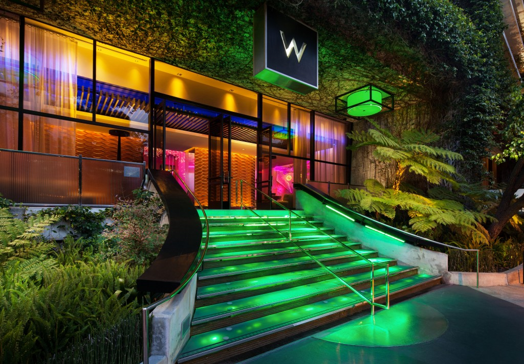 Entrance to W Los Angeles - West Beverly Hills