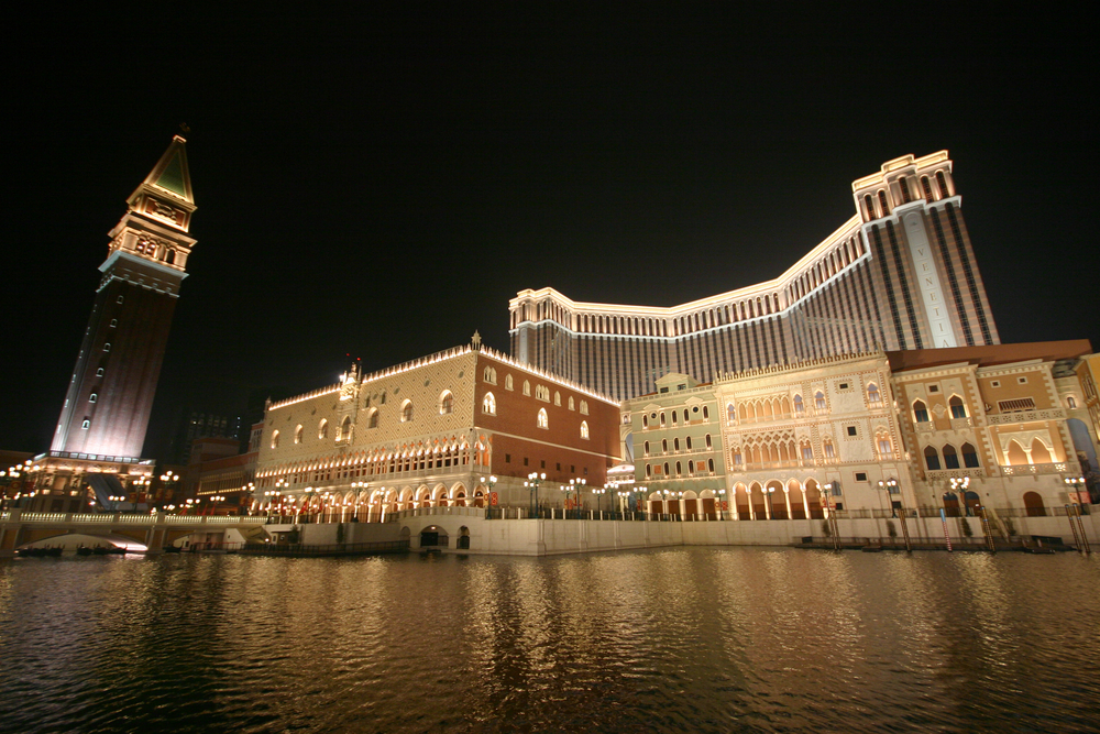 The Venetian Macao Resort Hotel, home of the Cotai Strip