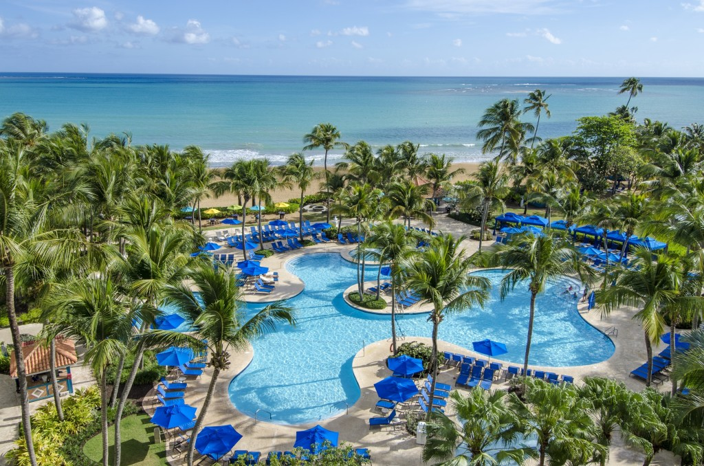 WYNDHAM GRAND RIO MAR-Aerial Pool & Beach Landscape-3