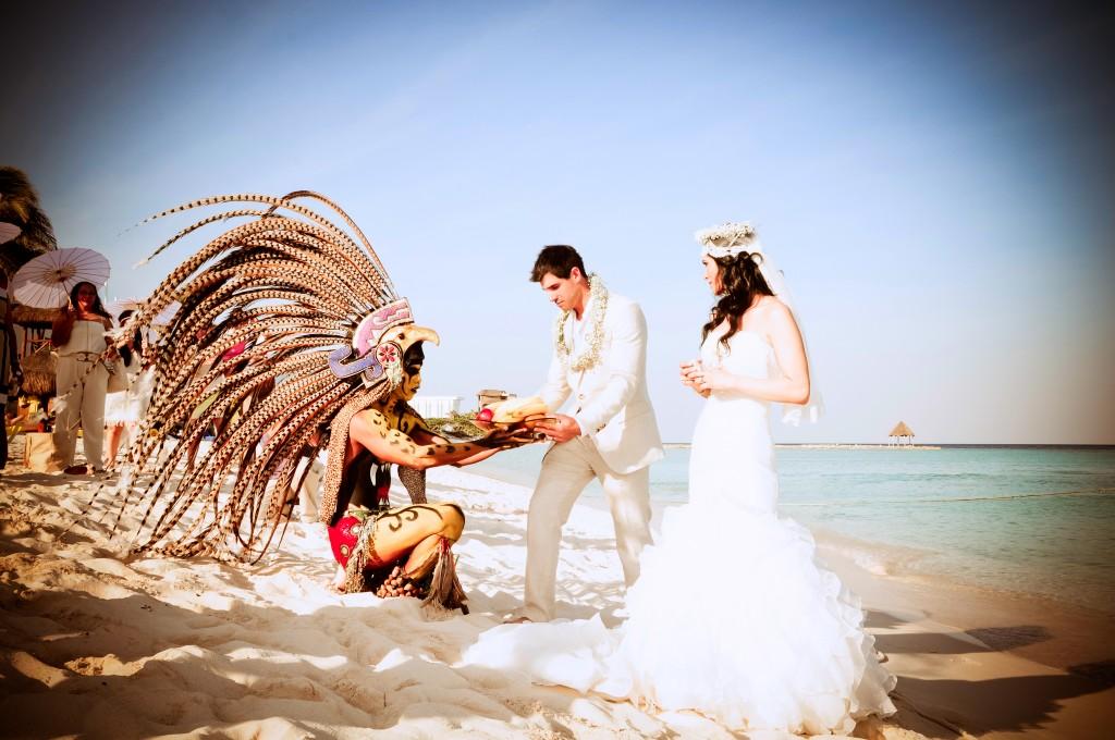 Mayan Wedding Oasis Resorts