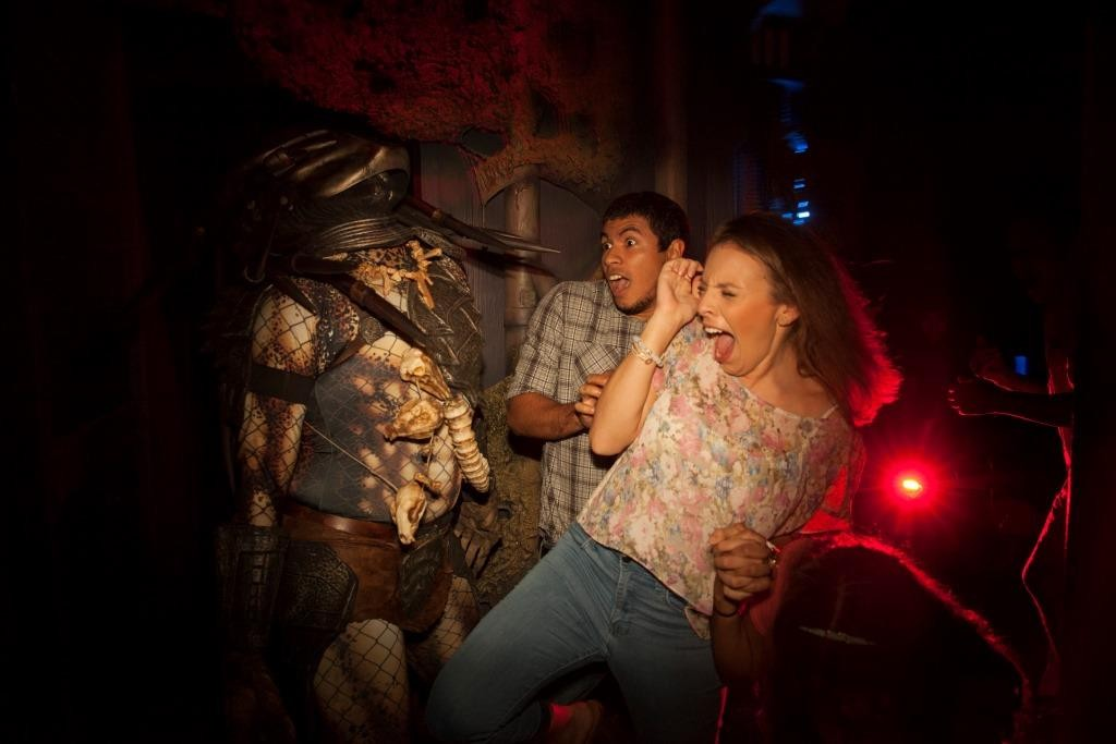 Universal Orlando Resort unleashes the horror of some of the most terrifying names in entertainment with Halloween Horror Nights 24. This yearÕs event features eight all-new, disturbingly real haunted houses based on some of the most recognizable names in horror, including AMCÕs  ÒThe Walking Dead,Ó John CarpenterÕs ÒHalloweenÓ and sci-fi franchise Alien vs. Predator. Consistently ranked as the nationÕs best Halloween event, Universal OrlandoÕs Halloween Horror Nights takes place select nights now until Nov. 1.