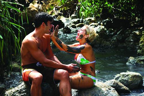 Mud Bath St. Lucia