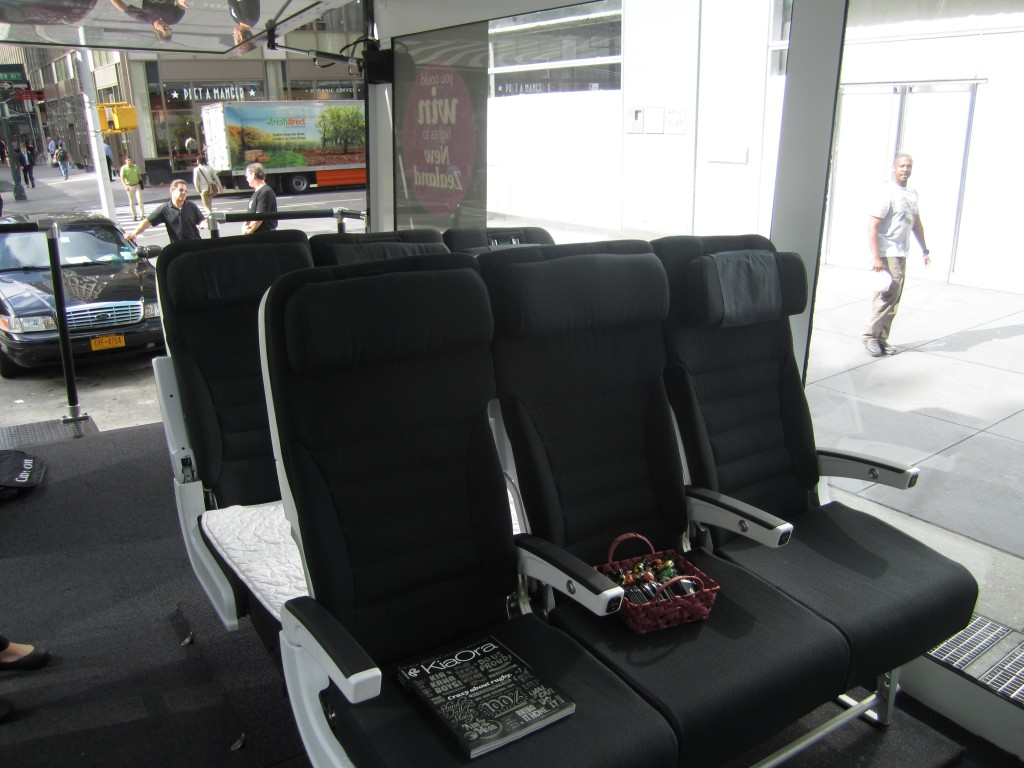 Air New Zealand Skycouch seats