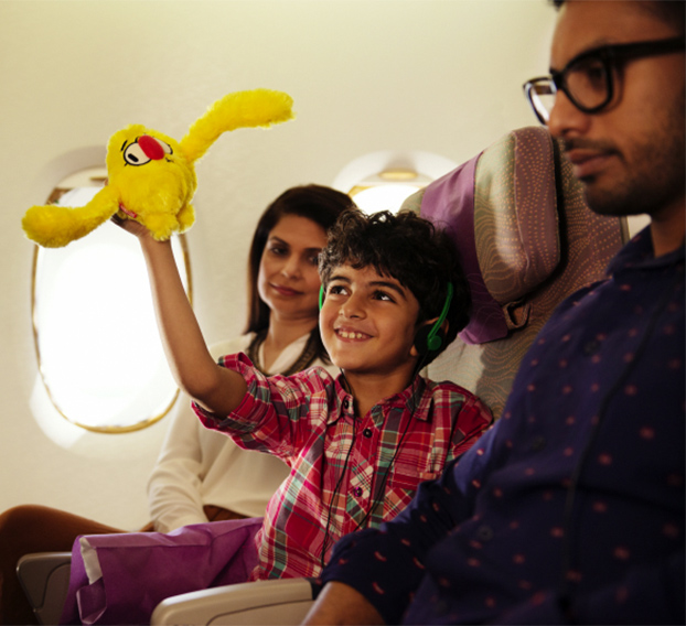 Young Travelers Soar with Emirates