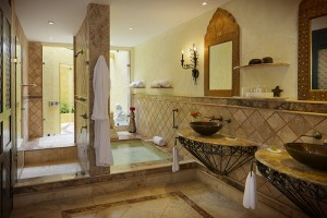 Lover's Suite Bathroom at Zoetry Paraiso de la Bonita Riviera Maya