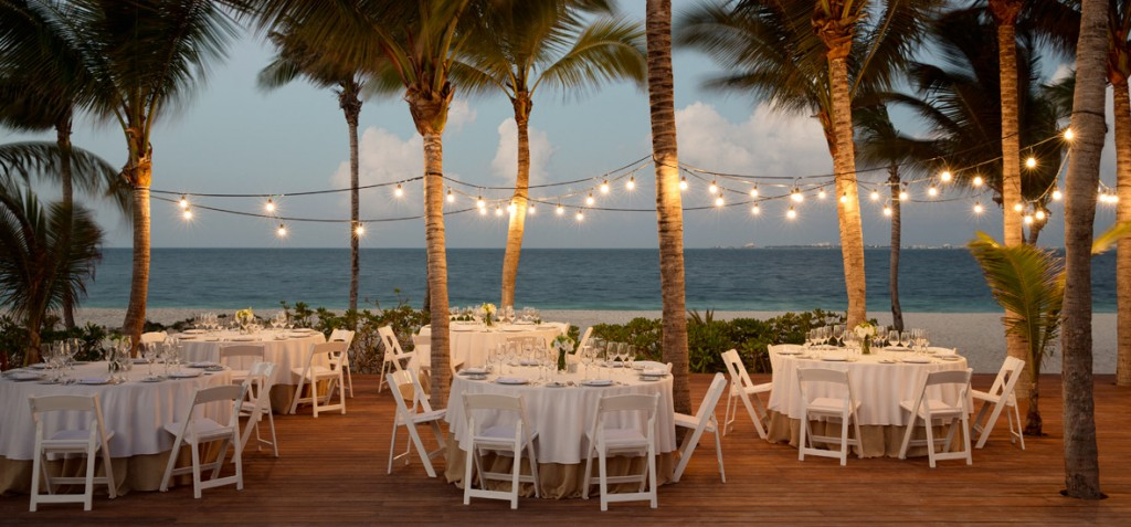 Wedding reception Finest Playa Mujeres