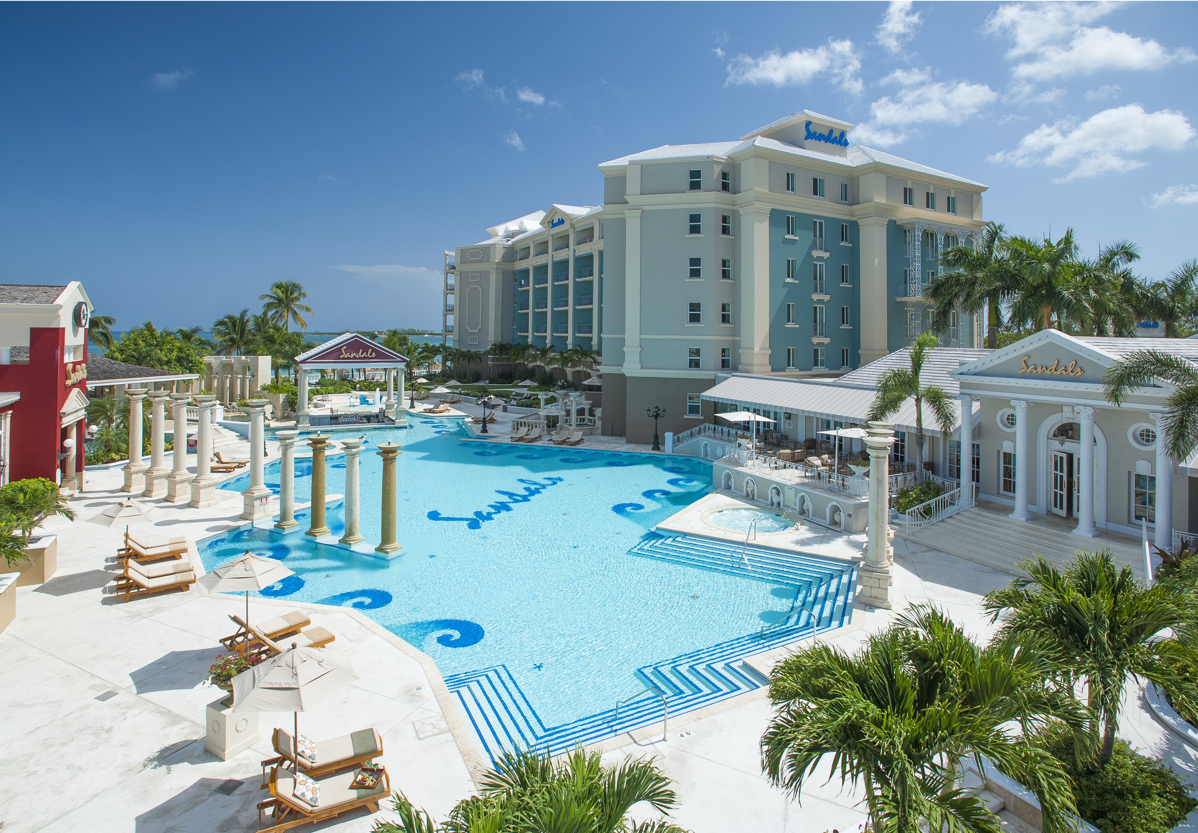 Regal Meet Exotic Sandals Royal Bahamian Spa Resort