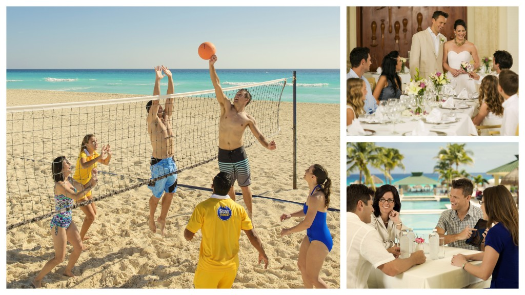 IBEROSTAR Cancun group collage