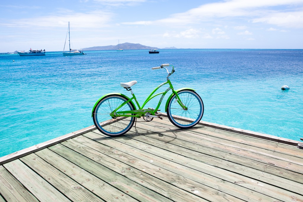 New Bicycles at Palm Island Resort