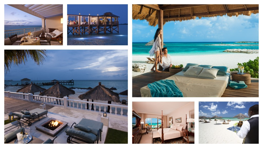 Sandals Royal Bahamian Collage