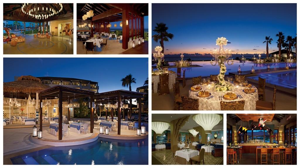 Secrets Playa Mujeres - dining collage