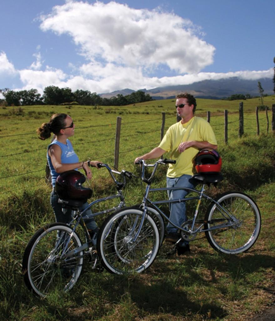 Hawaii Biking Crater