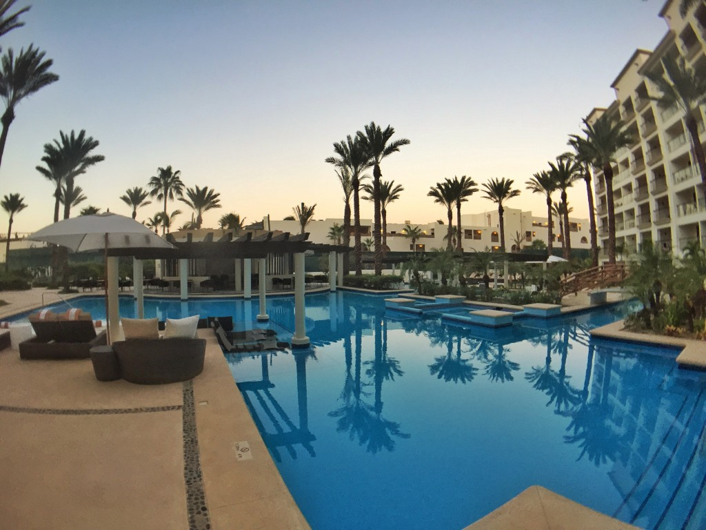 Adults-only pool at Hyatt Ziva Los Cabos