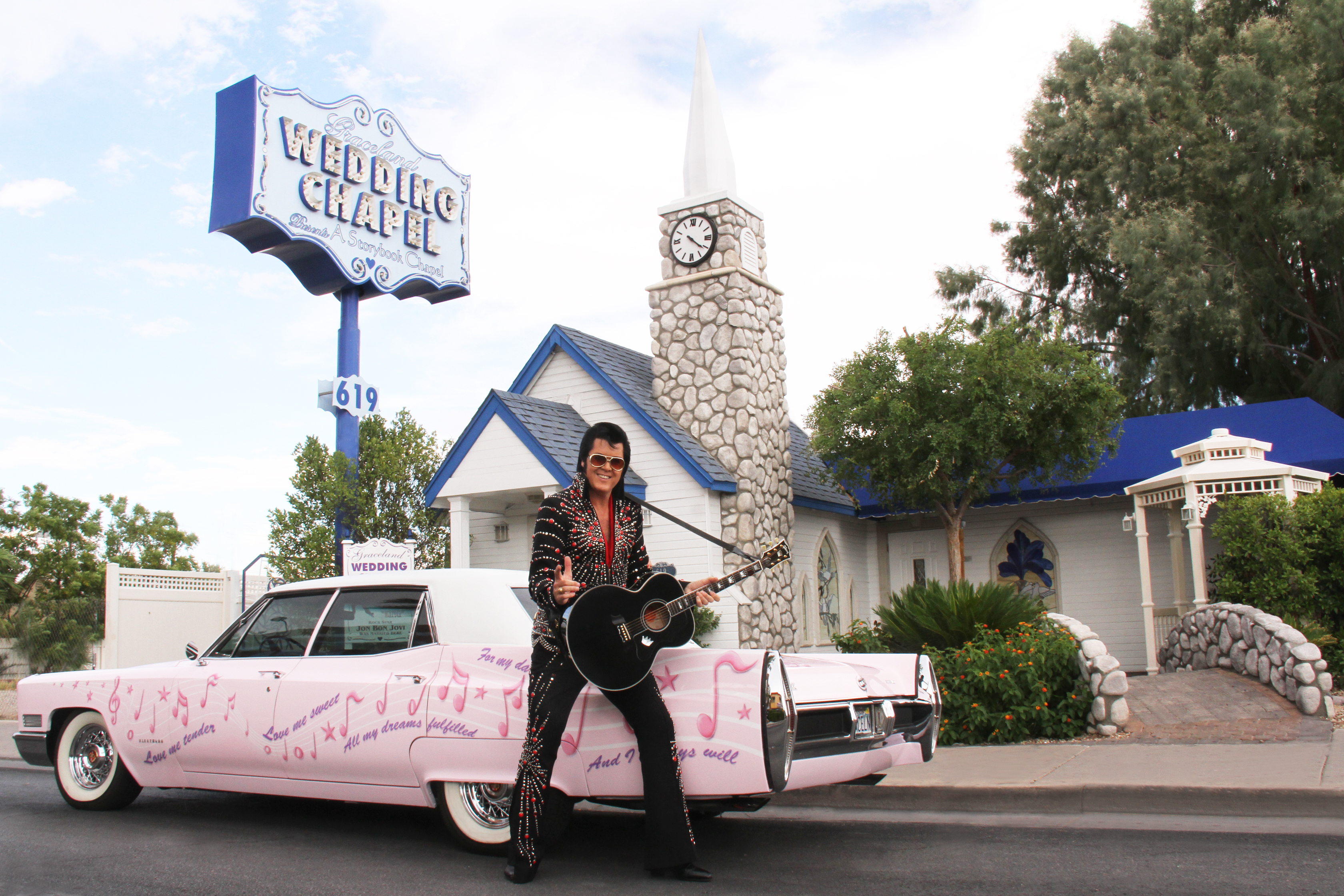Elvis Is in the Chapel: Getting Married in Vegas with The King