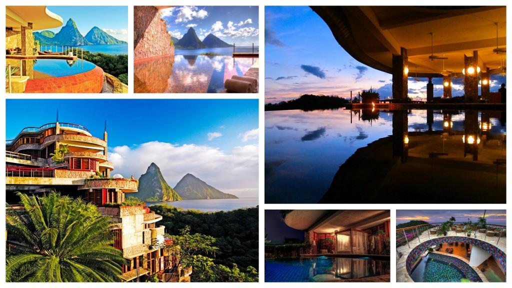 Jade Mountain Collage