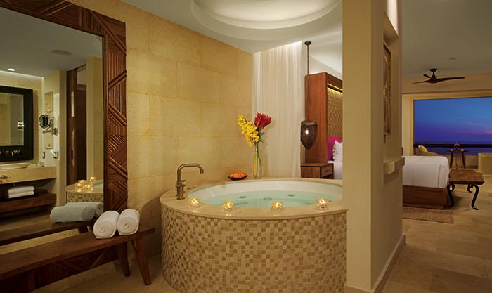 Preferred Club Junior Suite Ocean View Bathroom Secrets Akumal
