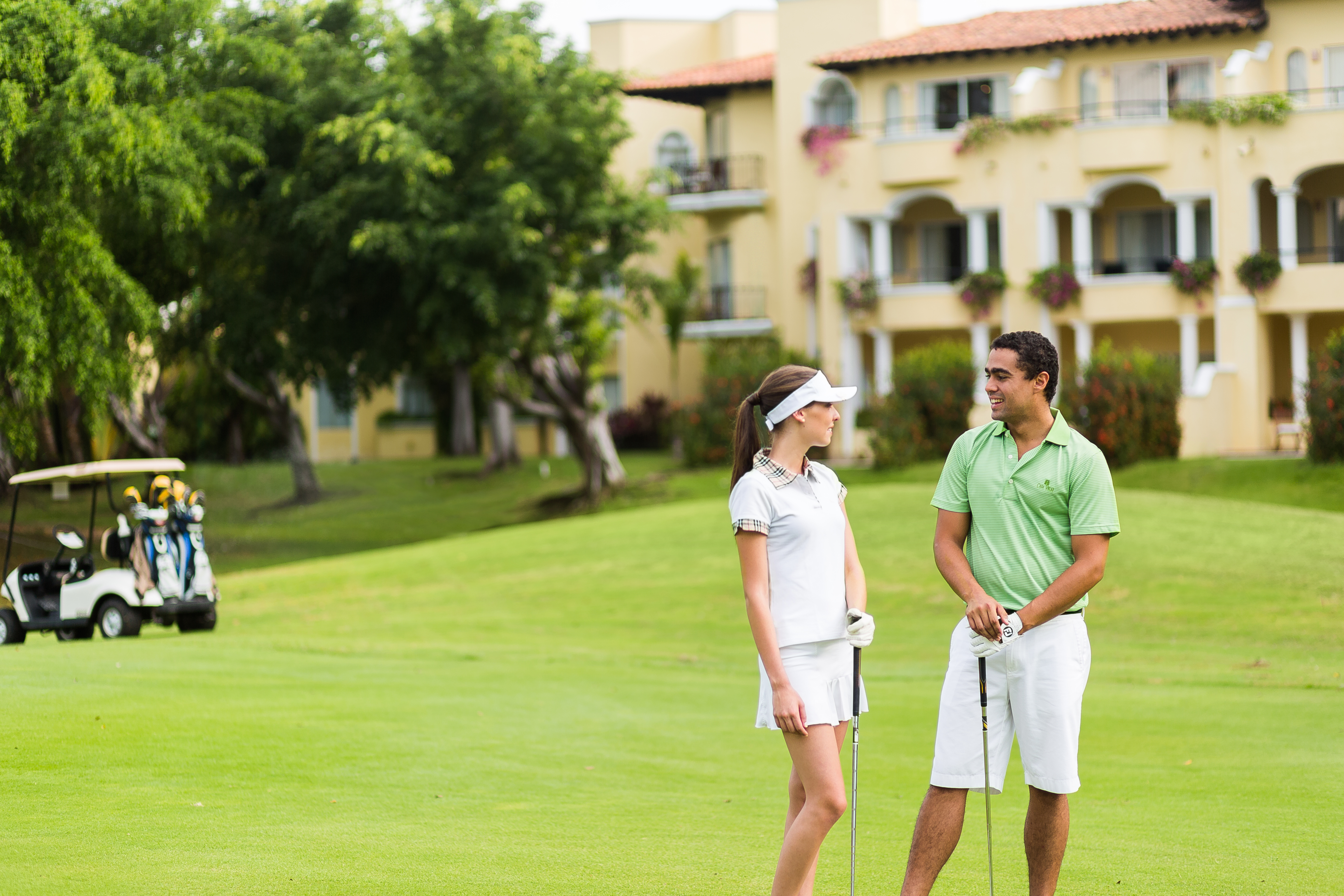 Tee off at Casa Velas and Vallarta Velas