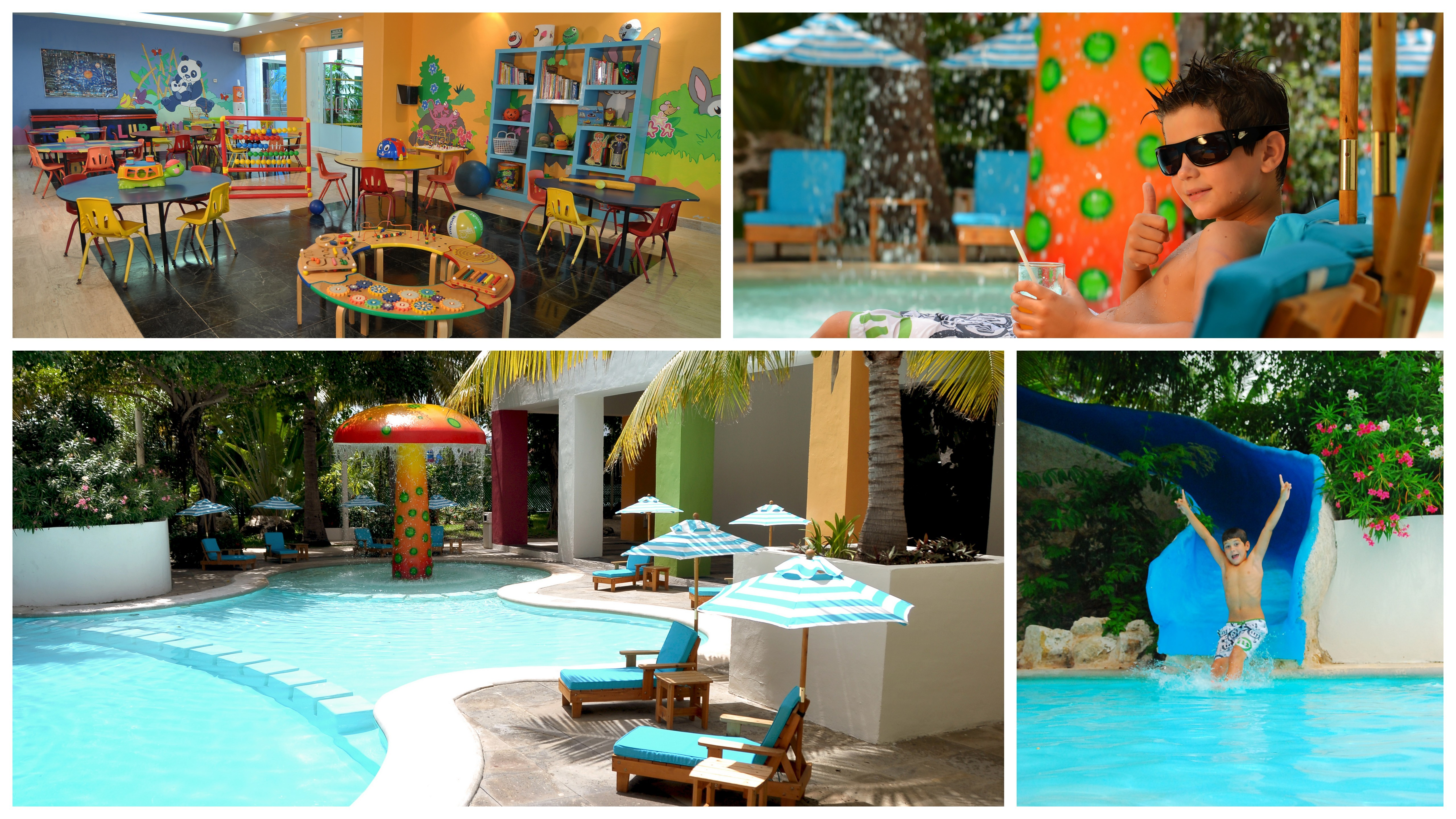 Kids and teens 17 or under, will stay, play and eat free in paradise. Our family friendly resorts are truly a paradise for kids and teens. Palace's littlest guests will enjoy our state-of-the-art Playroom, while teens can explore a world of their own.