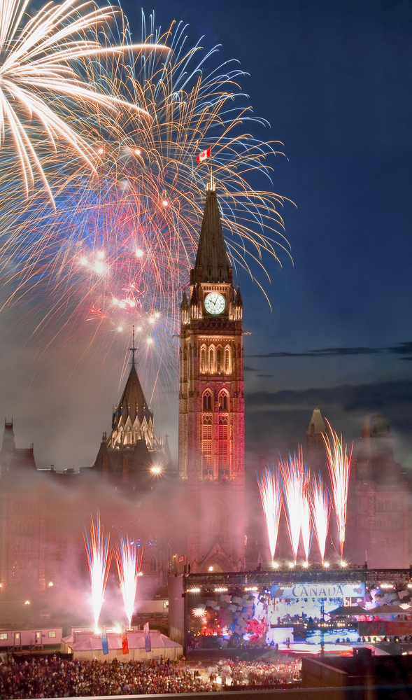 Ottawa on Canada Day