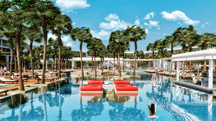 Breathless Riviera Cancun pool