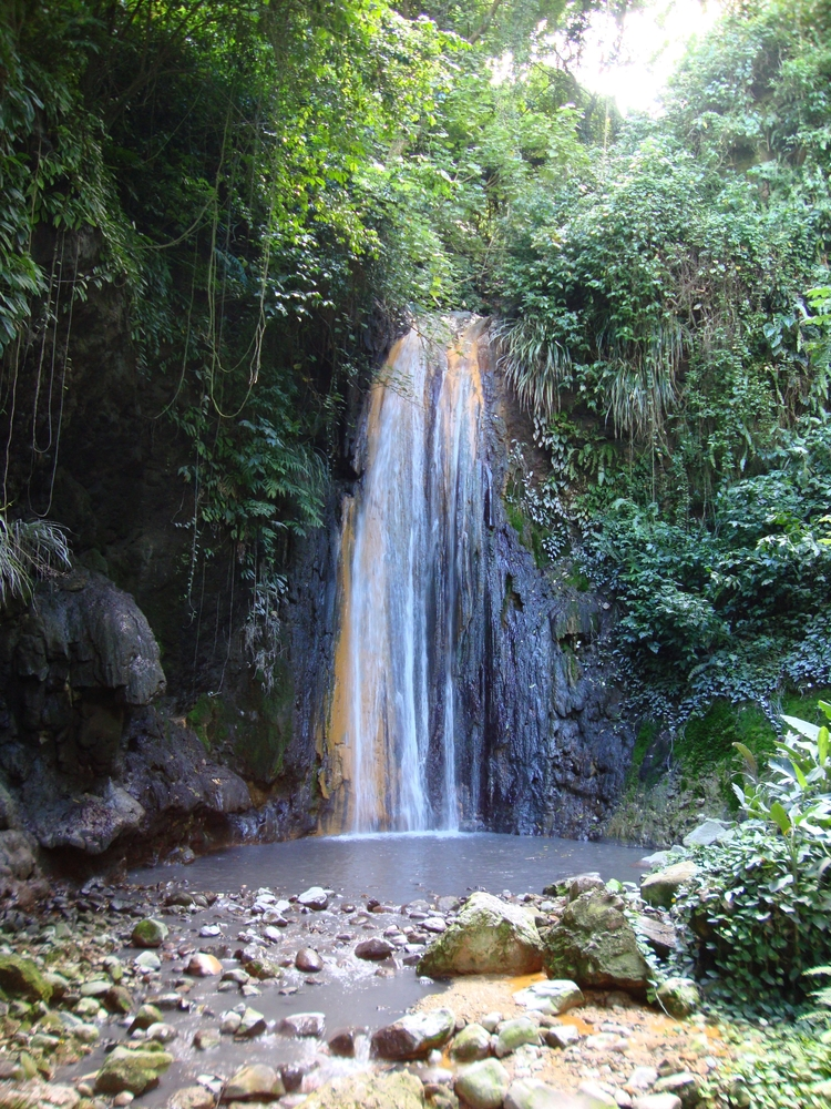 Diamond Falls St. Lucia