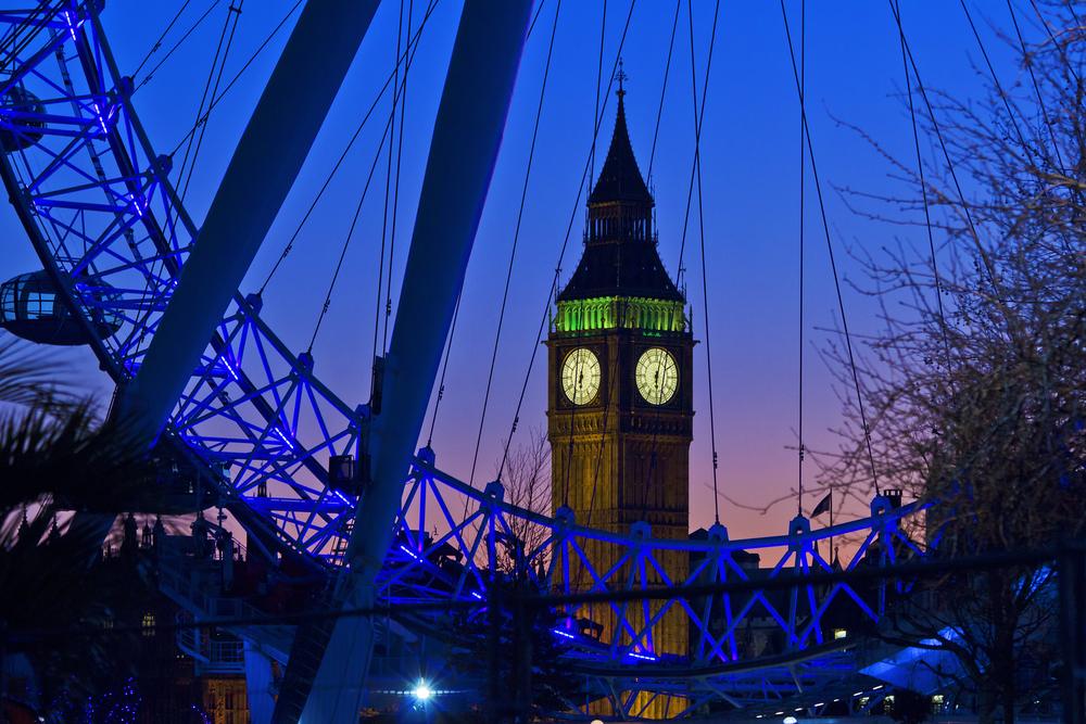 London Eye Big Ben