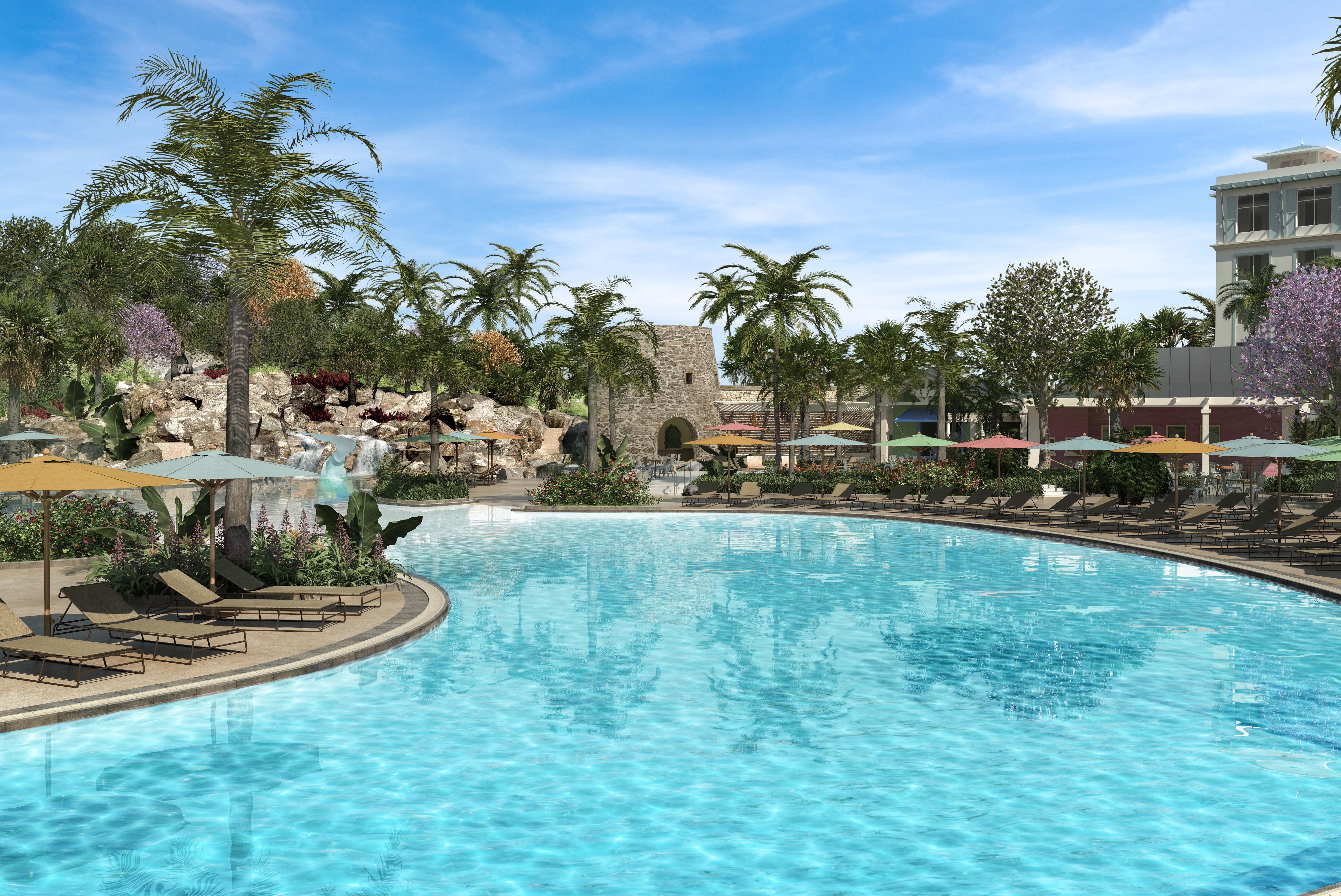 The Floridian Caribbean — Loews Sapphire Falls Resort