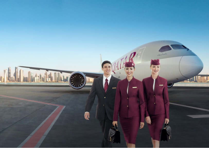 Qatar Airways Crew
