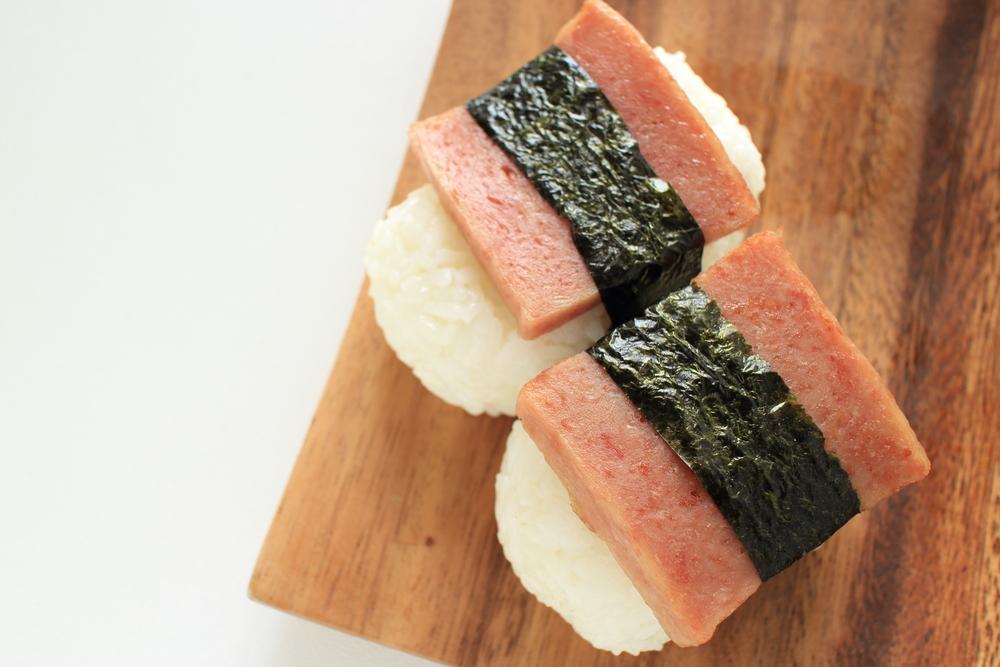 Spam Musubi Hawaiian Food