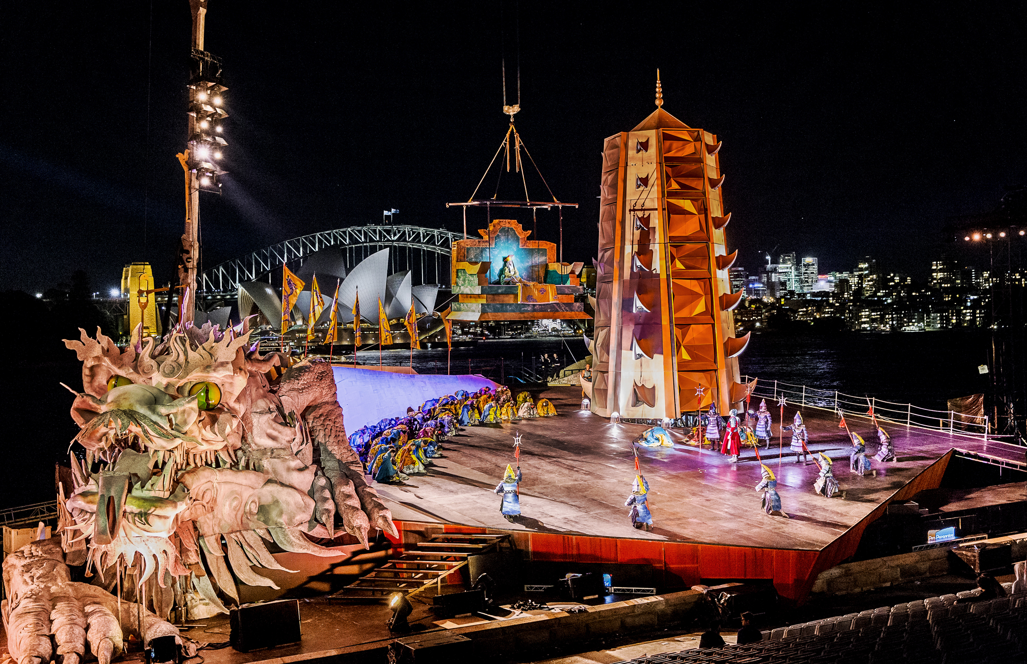 Marvel at the Newest Opera on the Harbour