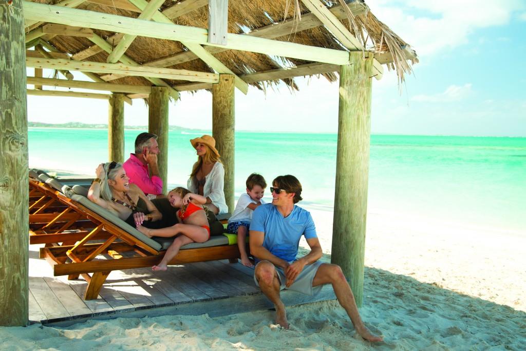 Beach Cabana Family