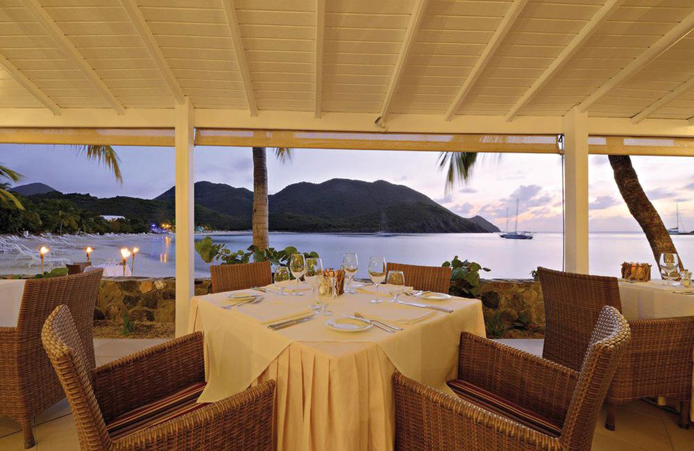 Riu Palace Saint Martin dining