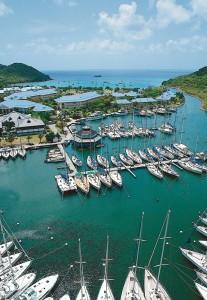 Riu Palace Saint Martin marina