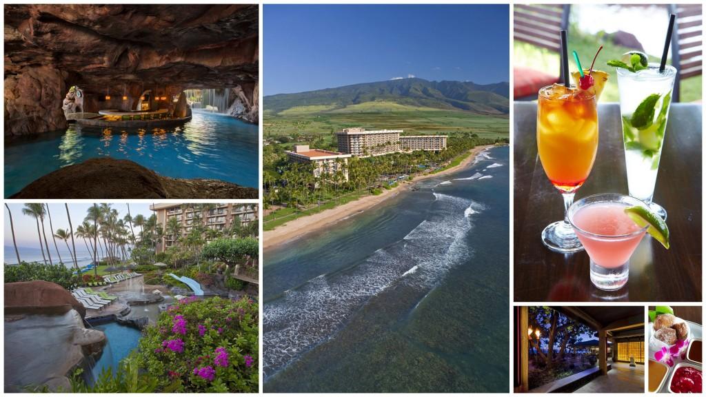Hyatt Regency Maui Resort and Spa collage
