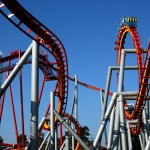 Knott's Silver Bullet - 6 Inversions and Zero-G Roll