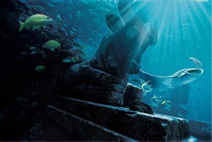 Ruins Lagoon Atlantis
