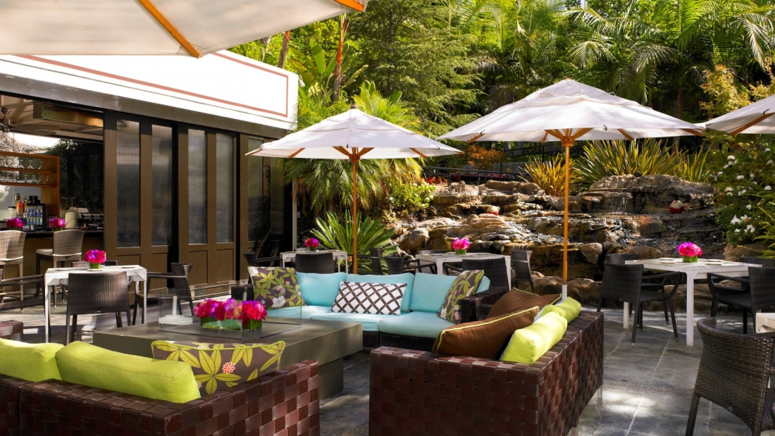 Garden Walk Dining: California Dreamin' With Starwood!