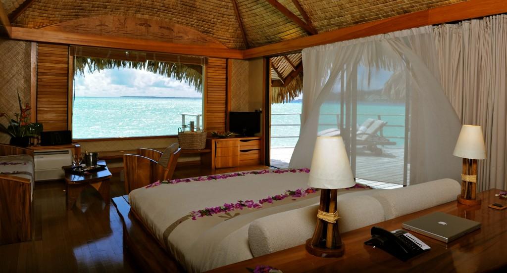 Le Taha'a guestroom