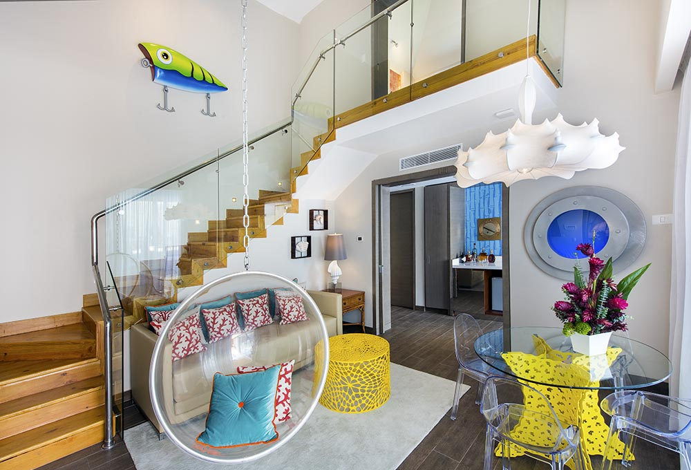 Who lives in a pineapple under the sea?  Now you can in this  SpoungeBob-inspired villa.