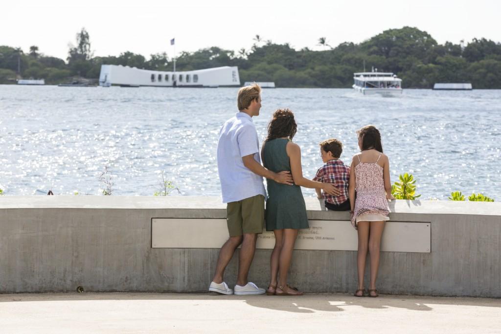 Pearl Harbor USS Arizona Family