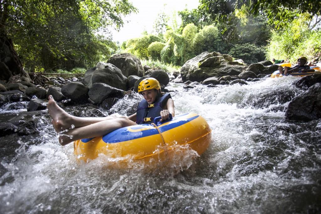 River Tubing down Balthazar River, Grenada