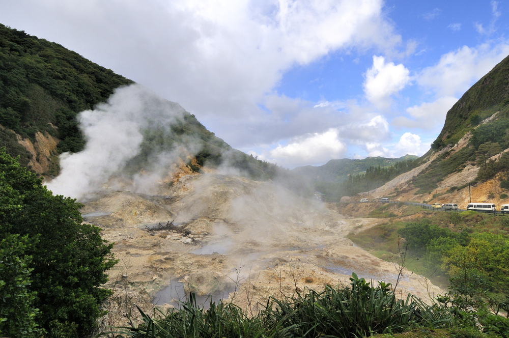 Soufriere Drive-In Volcano