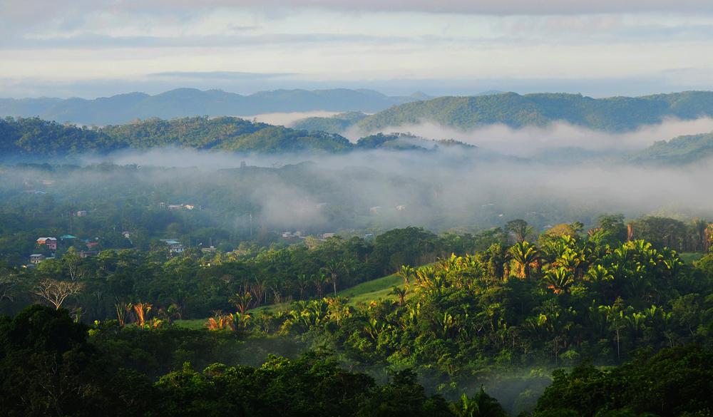 Hills surrounding San Igancio