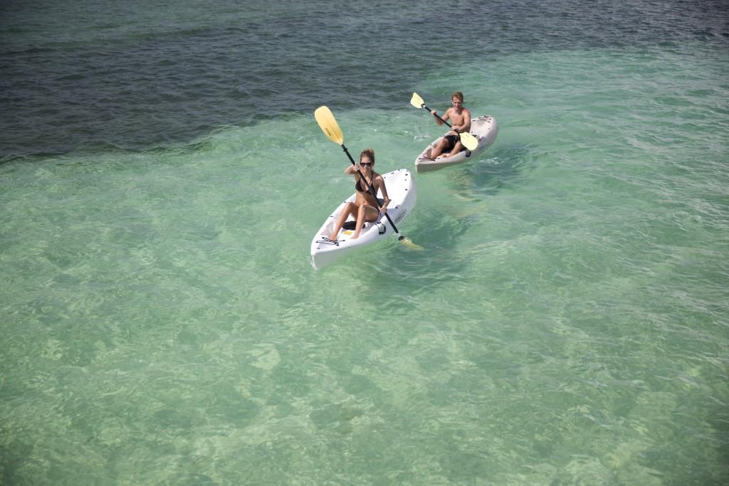 Kayaking at NIZUC