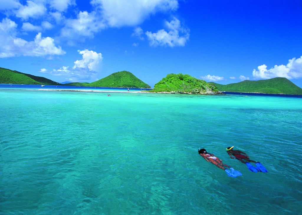 St. Thomas boasts tremendous snorkeling on its West End